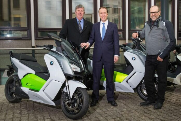 Bmw C Evolution Leads The Charge As Uk