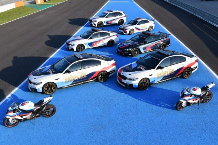 Bmw M Celebrates 20 Years As Official Car Of Motogp