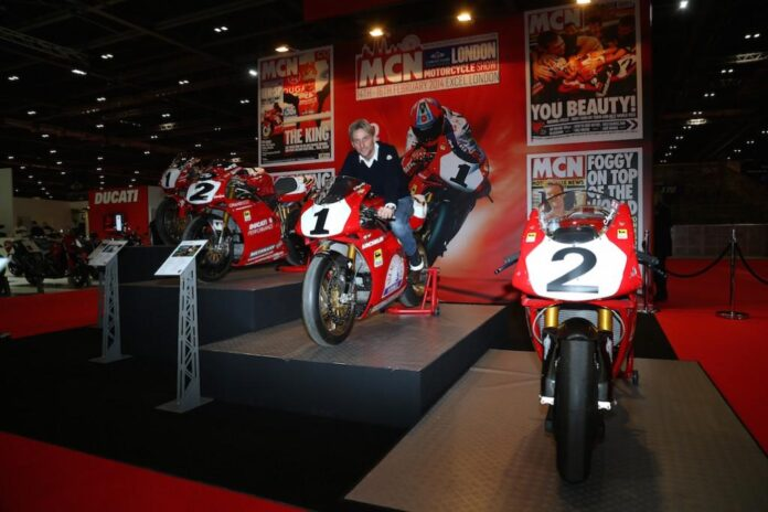 Countdown Begins As World's Most Exciting Bikes, Celebrities And Racers Rev Up For The London Motorcycle Show!