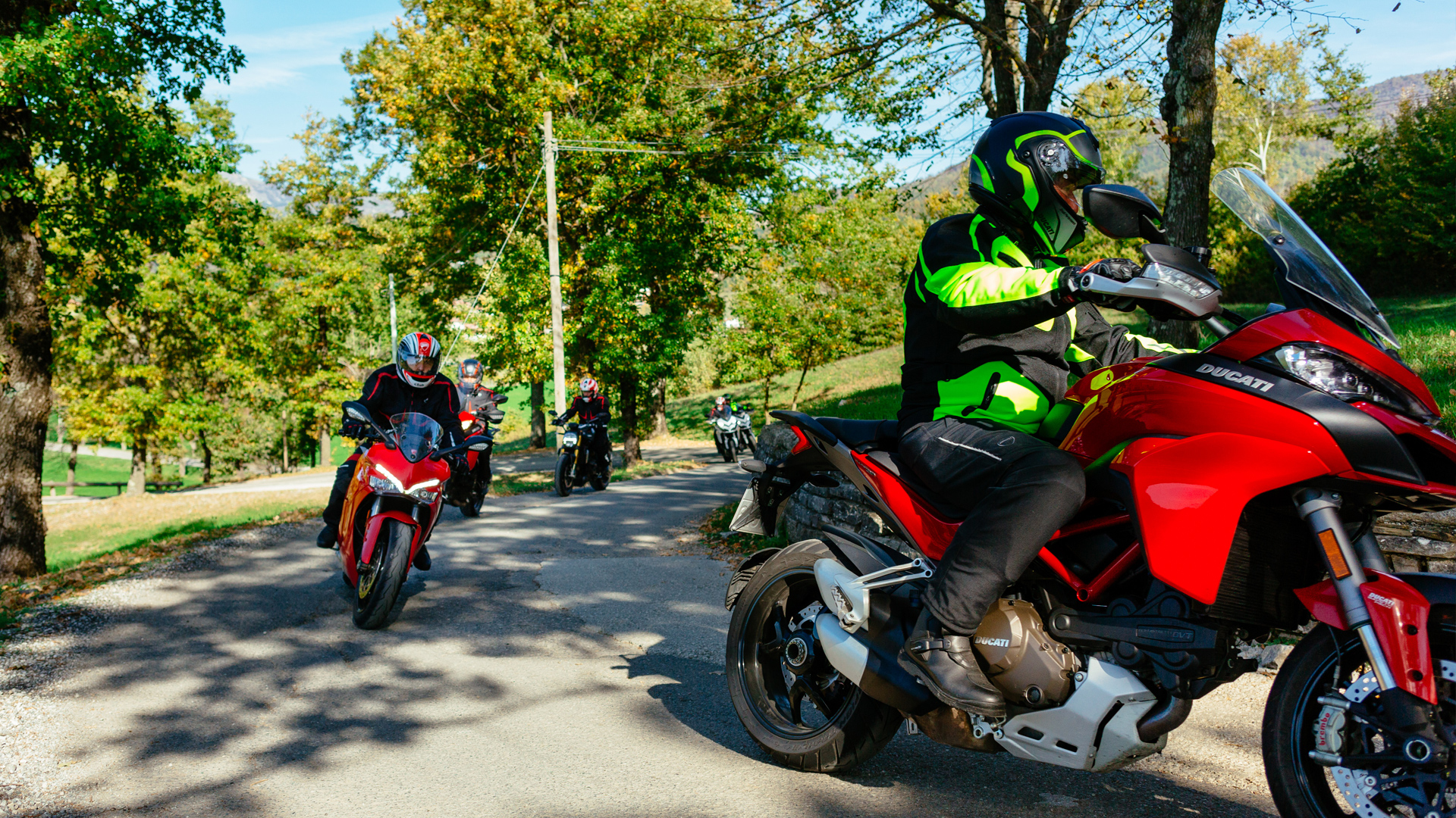 Ducati Dream Tour 2016, Five Unforgettable Weekends On The New Ducati Models