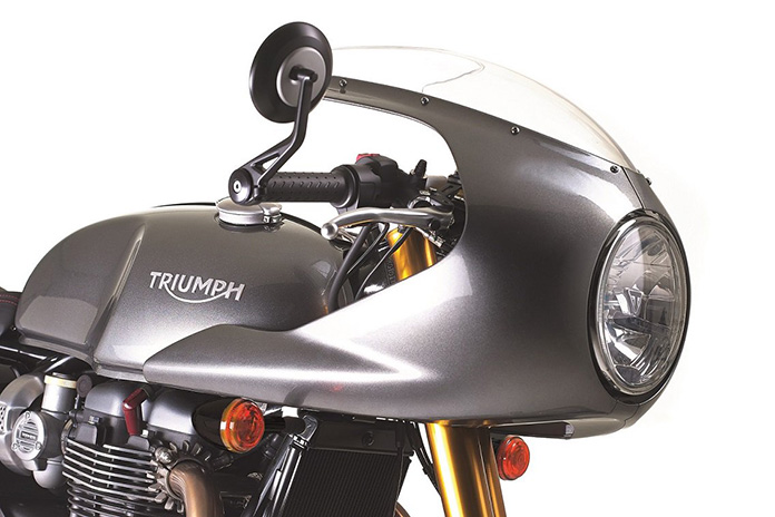 Free Track Racer Kit With Every New Triumph Thruxton R