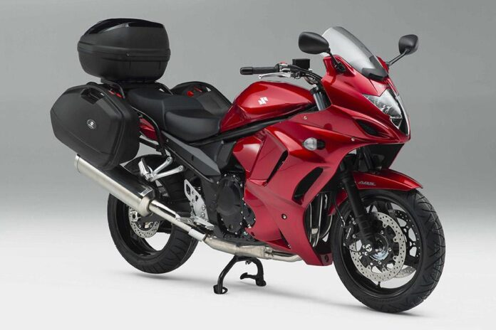 Gsx1250fa Gets Luggage As Standard And V-strom Sport Svailable