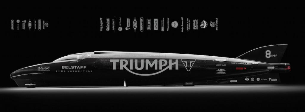 Guy Martin And Triumph Attempt To Bring The Record Back Home