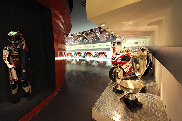 Make A Virtual Tour Of The Ducati Museum In Bologna With Google Maps