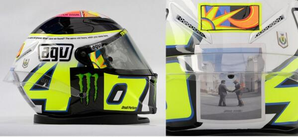 New Agv Valentino Rossi Limited Edition
