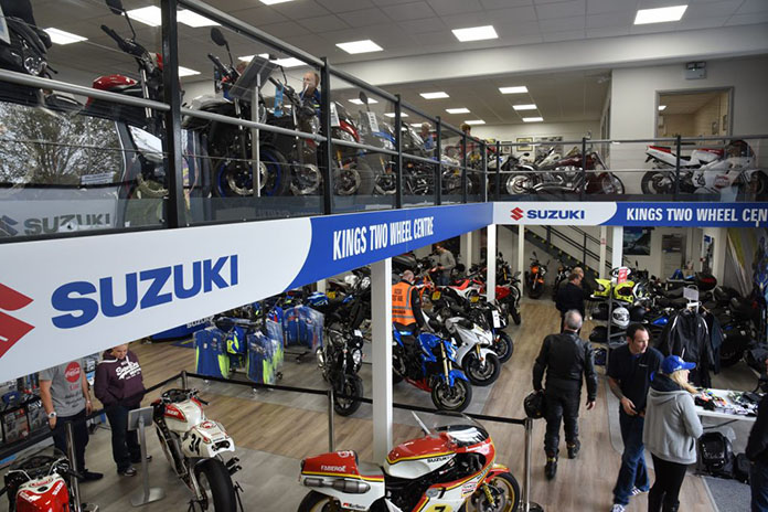 Open Day Marks Launch Of Kings Two Wheel Centre New Showroom