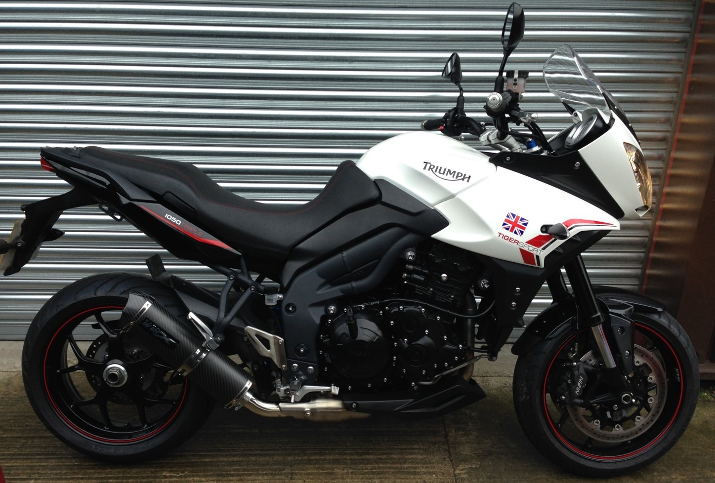 Pipe Werx Triumph Tiger 1050 Low-level Exhaust