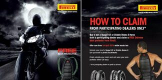 Pirelli Partners With Dainese To Offer Customers A Free Back Protector