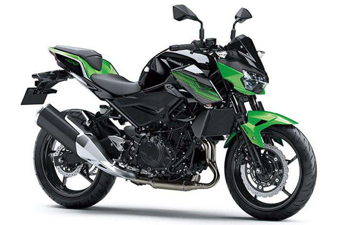 Refined Raw Z400 Beefs Up Kawasaki Mid‑weight Naked Offering