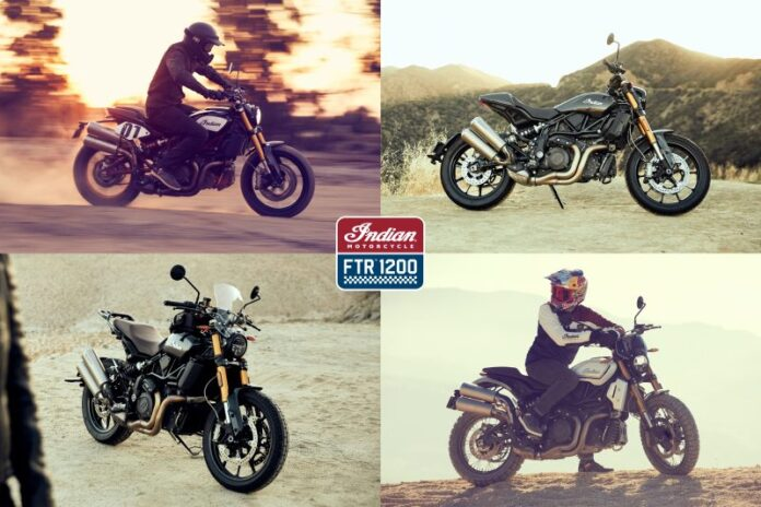 Tracker, Rally, Sport & Tour Collections Completely Restyle Indian's New Ftr 1200 & Ftr 1200 S