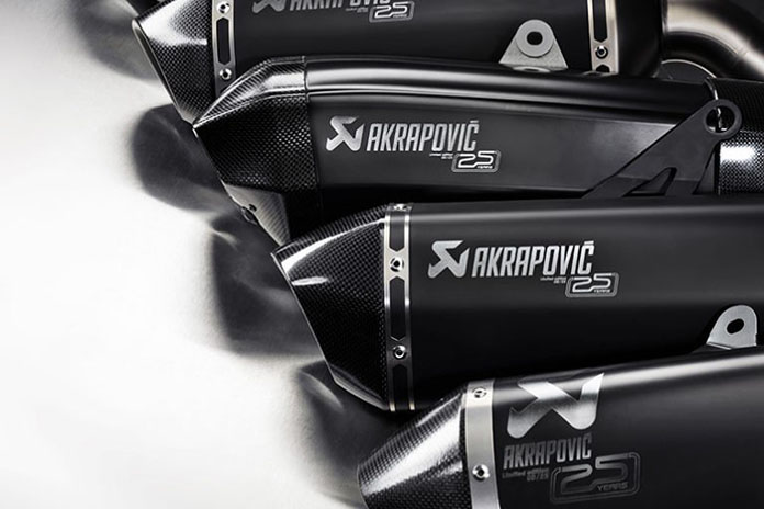 Ultra-limited-edition Akrapovic Exhausts Launched To Celebrate 25 Years