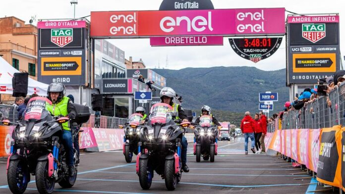 Yamaha Showcases Sporting Dna With Cycling Tours Sponsorship
