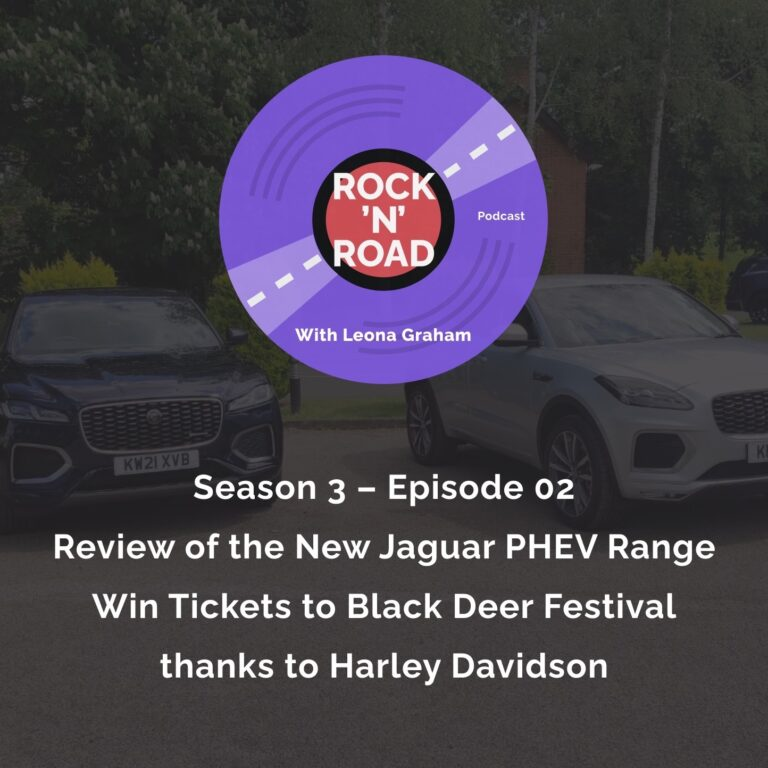 Series 3 Episode 2: Review of the New Jaguar PHEV Range and Win Tickets to Black Deer Festival thanks to Harley Davidson