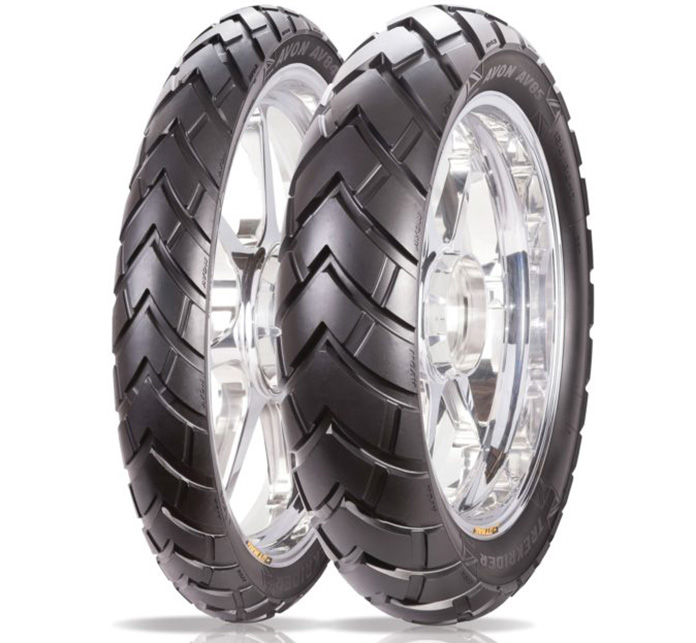 Avon Tyres New Trekrider Tyre Gives Adventure Riders The Best Of Both Worlds