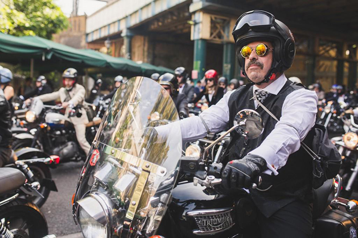 Bikes, Blazers, Beards And Banter Give A Two-fingered Salute To Prostate Cancer