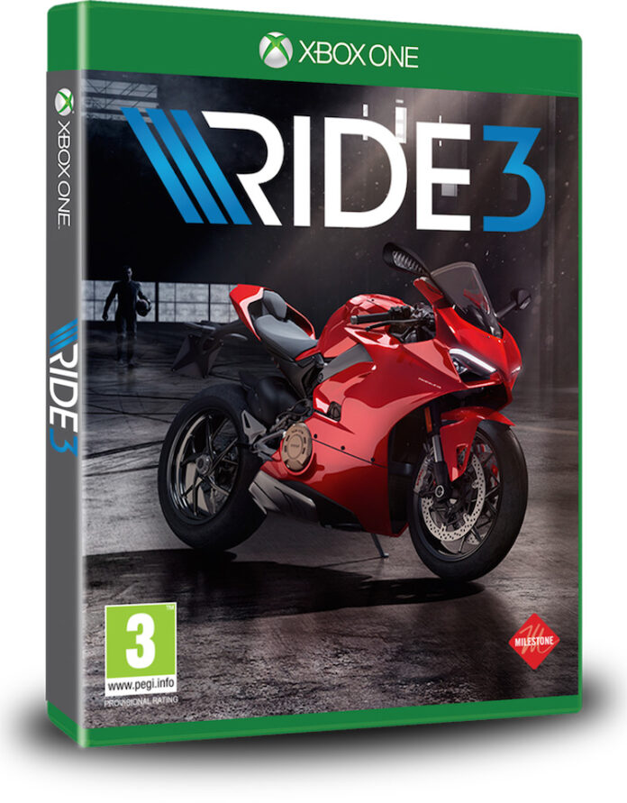 Ducati Panigale V4 Protagonist Of Ride 3 Videogame
