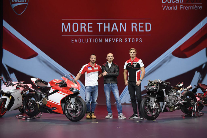 """Ducati World Première 2017, """"more Than Red: Evolution Never Stops"""""""
