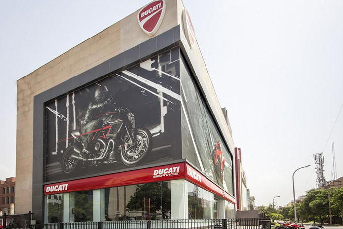 Ducati Officially Marks Its Arrival In India With A Press Conference At The Largest Ducati Store In The World