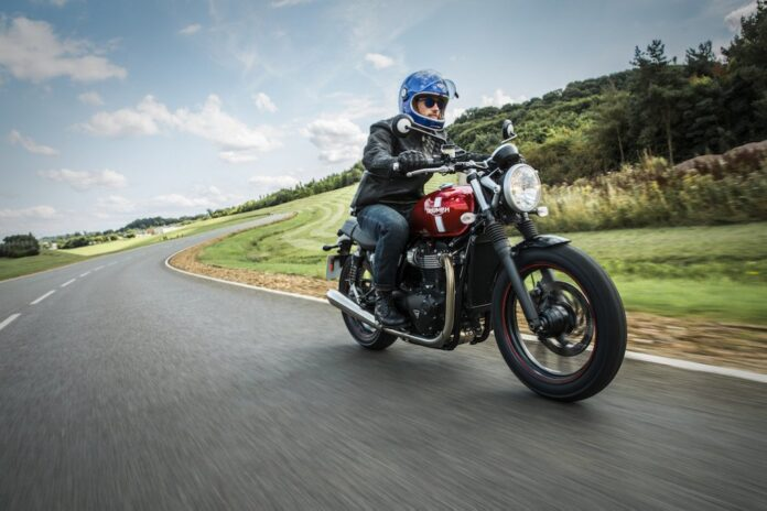 Triumph Motorcycles' National Street Twin Store Launch
