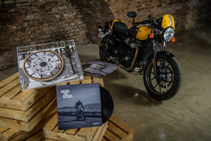 Triumph Taps Into Rock 'n' Roll Heritage With Special Edition Vinyl And Turntable