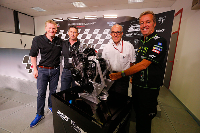 Triumph To Power Moto2 From 2019